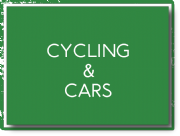 Cycling and cars